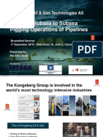 cubsea to subsea piping