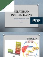 Pelatihan Insulin Dasar