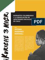 MIGRANTES COLOMBIANAS Y LA NEGOCIACIÓN DE IDENTIDADES RACIALES EN CHILE