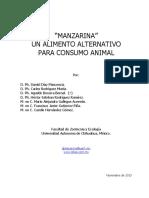 Manzarina Un Alimento Alternativo Para Consumo Animal 2
