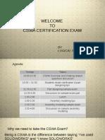 CVSR exam