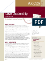 LoveLeadership Summary