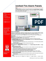 Networked Fire Alarm Panels