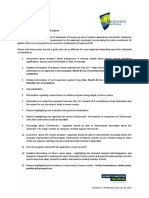Guidelines for Statement of Purpose