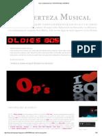 Op´s Certeza Musical _ HISTORIA DEL HI ENERGY