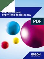 Espon's Precision Core Printer Head Fact Sheet