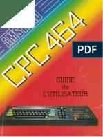 Amstrad CPC464 Guide de Lutilisateur 1984 AMSOFT FR