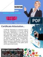 Searching for Faster and Reliable Certificate Attestation Services?
