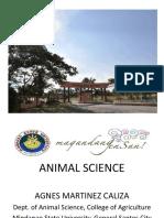 Animal Science Rview 2012