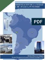 La Modernizacion de La Ciudad Comercial de Juliaca, Puno - Peru