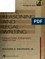 Legal reasoning and legal writing. Structure, strategy, and style.pdf