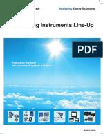 FUJI Instrumentation Common Catalogue