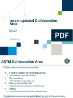 ASTM Updated Collaboration Areas-Member Training