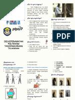 Leaflet penyuluhan Low Back Pain