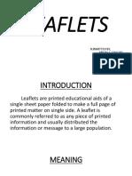 Leaflets PPT
