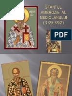 Sfântul Ambrozie