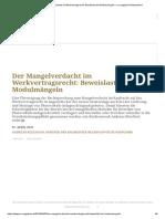 Der Mangelverdacht Im Werkvertragsrecht_ Beweislast Bei Modulmängeln – Pv Magazine Deutschland