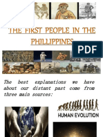 The First People in The country