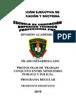 SILABUS PROTOCOLO DE TRABAJO CONJUNTO ENTRE MP Y POLICIA.docx