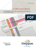 81121_Kooltherm K108 (75 Mm in a 125 Mm Cavity) Standard Details - 2nd Issue February 2019