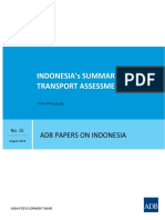 Indonesia's Summary Transport Assessment