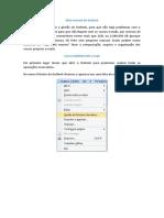 Mini Manual de Outlook