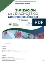 Bienvenid@ - Optimización del Diagnóstico Microbiológico (1ª edición) - SEIMC