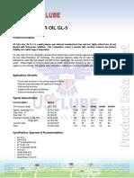 GEAR OIL GL-5 _90 140 80W90 85W90 85W140