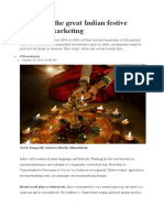 A Guide to the Great Indian Festive Season of Marketing