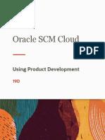 Using Product Development