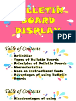 Bulletin Board Display Powerpoint Presentation