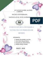 INTERVENCIÓN DE LA PSICOLOGÍA A ESTUDIANTES CON PROBLEMAS DE MEMORIA.docx