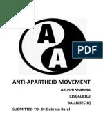 ANTI-APARTHEID MOVEMENT( SOCIOLOGY).docx