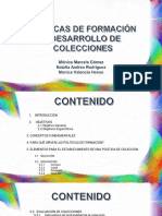Politica de desarrollo de Coleccion