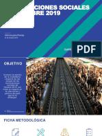 Estudio Ipsos sobre Movilizaciones Sociales