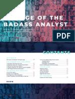ALTERYX. the Age of Badass Analyst