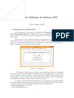 Manual de Utilização Do FET