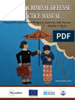 Myanmar Criminal Defense Practice Manual