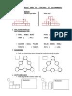 Ejercicios Propuestos Para El Concurso de Razonamiento Matemático
