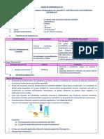 SESION 01 - 1° MAT -  VI UNI - JFSC