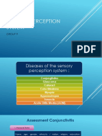 Sensory Perception System English