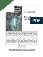 Bataille, Georges - Die Aufhebung der Ökonomie (2001)
