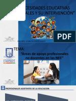 Necesidades Educativas Especiales y Su Intervención