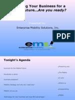 AITP St. Louis Chapter Presentation_09-24-2009- Preparing for a Mobile Future