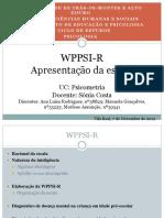 pp final da WPPSI-R