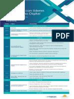 Llega la edición 2019 del Encuentro con líderes de Gobierno Digital organizado por Agesic