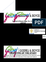 101882072 Presentation on Godrej Boyce Mfg Co Ltd