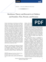 Masten, A. S. (2018). Resilience Theory and Research on Children and Families Past, Present, And Promise