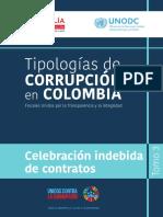 Celebracion Indebida de Contratos desarrollado por la F.G.N.