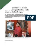 00 1 Sabían Escribir Los Incas